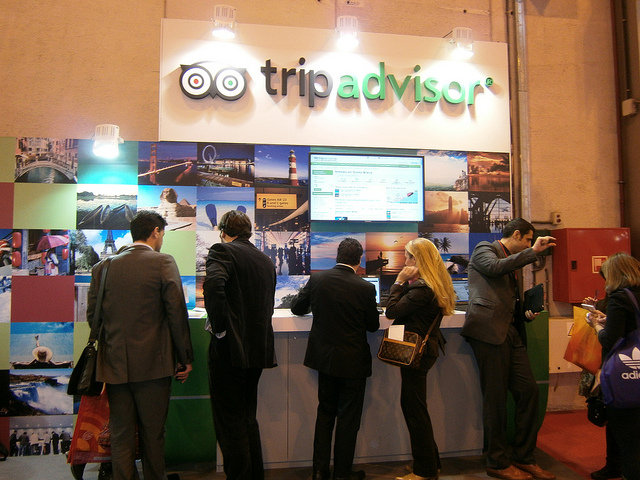 Tripadvisor-Tourismus-Konferenz