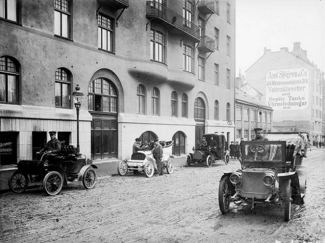 Automobil, Stockholm