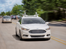 Ford Full Autonomy Vehicle for Ride Sharing (Bild: TechCrunch)