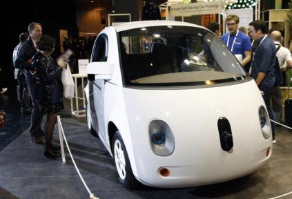 Google Self-Driving Prototyp (Bild: TechCrunch)